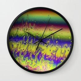 I See Faces Wall Clock