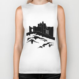 Haunted Castle Biker Tank