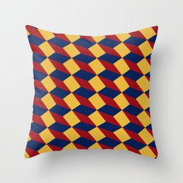 3D Stairs Throw Pillow