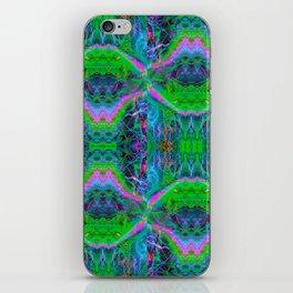 Techno Electric II (Ultraviolet) iPhone Skin