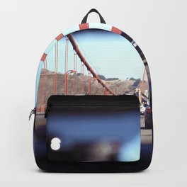From the Backseat, Driving Across the Golden Gate Backpack