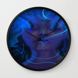 Laced Wall Clock