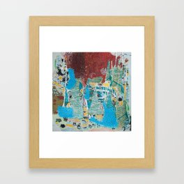 UNDER THE CITY (INTO THE LIGHT) Framed Art Print