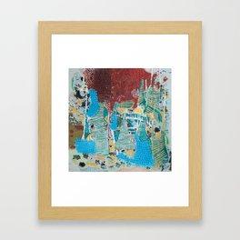 UNDER THE CITY (INTO THE LIGHT) Framed Art Print