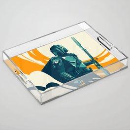"""""""Mando"""" by Matt Kehler Acrylic Tray"""