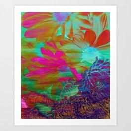 Floral Fantasy 2 Art Print