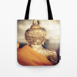 Buddha the other side Tote Bag