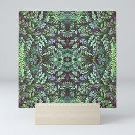 Forest Maidenhair Fern Mini Art Print