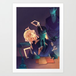 Glitch_12 Art Print