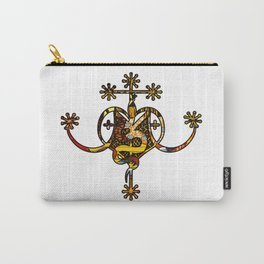Earthy Marie Laveau Veve Sigil Carry-All Pouch