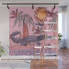 Swamp Hunt Wall Mural