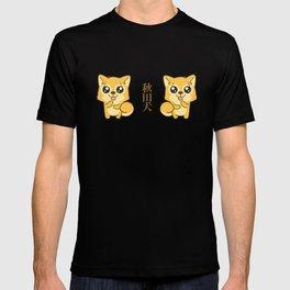 Hachikō, the legendary dog pattern T-shirt