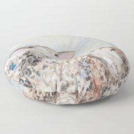Couple of Sheep Floor Pillow