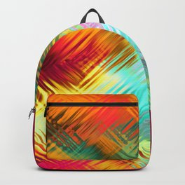 Colorful glass pattern Backpack
