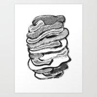 Stomach Knot 2 Art Print
