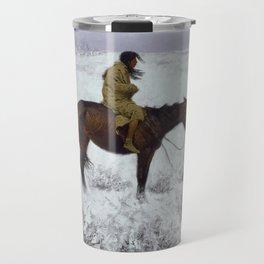 Frederic Remington - The Herd Boy Travel Mug
