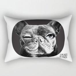 FRENCH BULLDOG FORNASETTI BLINK Rectangular Pillow