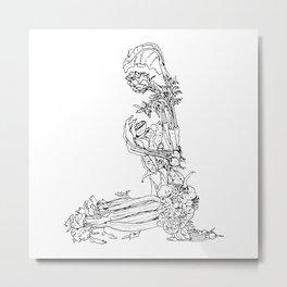 Beet It Metal Print