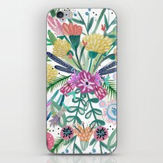 Flower burst, Illustration, print, art, pattern, floral, flowers, colour, painting, design, iPhone & iPod Skin