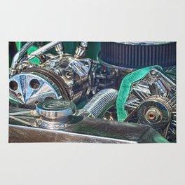 Ford V8 Rug