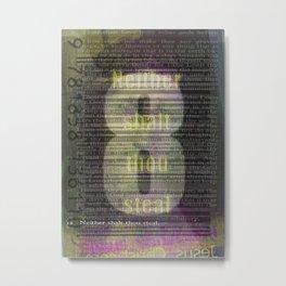 8 Metal Print