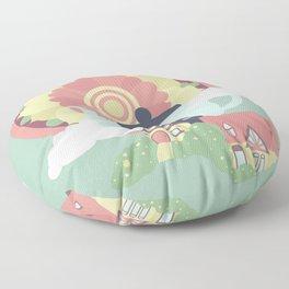 Mandala Tea Floor Pillow