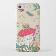 Toadstools in the Woods iPhone 7 Slim Case