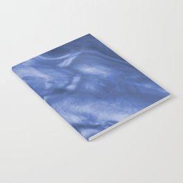 Flowing Purple Haze, Pearlescent Fluid Art Illustration Notebook