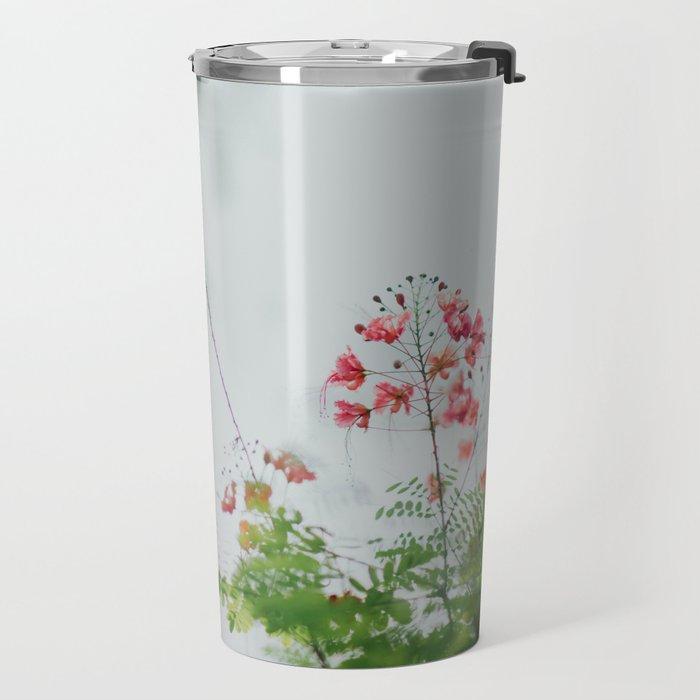 flower photography by chuttersnap Travel Mug