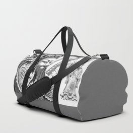 Buddhist Temple Guard Duffle Bag
