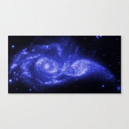 Blue Universe Canvas Print