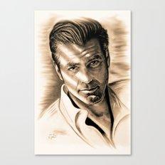 George Clooney II Canvas Print
