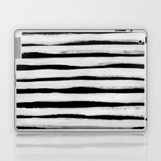 Black and White Stripes II Laptop & iPad Skin