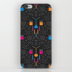 Mad Science Damask iPhone & iPod Skin