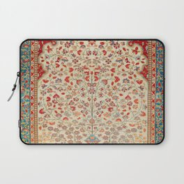 Kashan Central Persian Rug Print Laptop Sleeve
