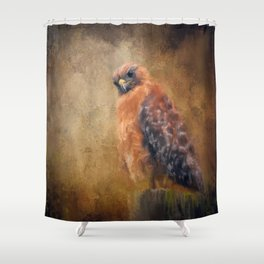 Pole Hunter Shower Curtain