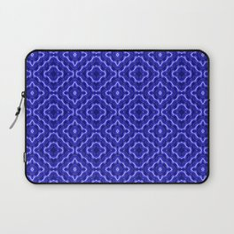 Neon blue diagonal Laptop Sleeve