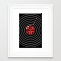 game Framed Art Prints featuring game by sladja