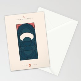 THE VEIL AND THE BEARD - Muslim Fundamentalists - Woman Stationery Cards