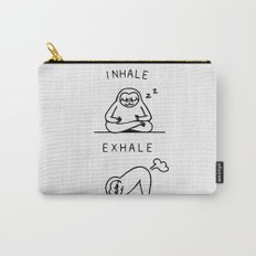 Inhale Exhale Sloth Carry-All Pouch