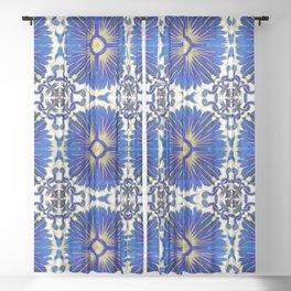 Azulejos - Portuguese Tiles Sheer Curtain
