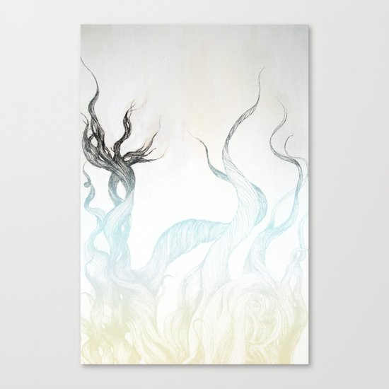 Wild Hair!  Canvas Print
