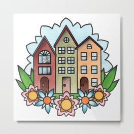 Home Sweet Home Metal Print