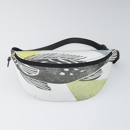 fish stamp III Fanny Pack