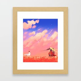 The Royal Menagerie Framed Art Print