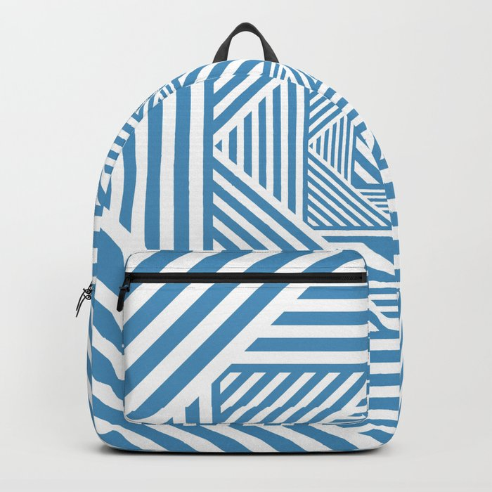Blue & White Secret Passage Backpack