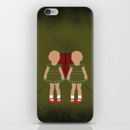 Twin Kids iPhone Skin