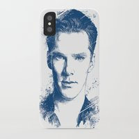 benedict cumberbatch iPhone & iPod Cases featuring Benedict Cumberbatch by Chadlonius