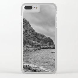 Makara Beach Walking Track Clear iPhone Case
