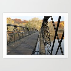 A Different Perspective on the Bridge Art Print